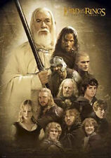 (LAMINATED) LORD OF THE RINGS - TWO TOWERS  CHARACTERS POSTER (91x61cm)  NEW ART