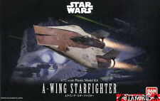 A-Wing Starfighter Star Wars Scale 1/72 Model Kit Figure Bandai Japan