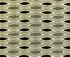 African Fabric 1/2 Yard Cotton Wax Print BROWN IVORY Abstract BTHY
