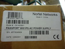 DS1405B01 NORTEL NETWORKS PASSPORT 8001 AC POWER SUPPLY BRAND NEW!