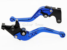 Short Blue CNC Clutch Brake Levers For SUZUKI GSXR600/GSXR750 2002 98 1997-2003