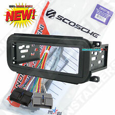 Aftermarket Car Stereo Install Dash Kit & Wires for Chrysler CR1277B Radio Mount