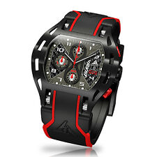 Carbon Fiber Luxury Watch Wryst Motors MS3 Swiss Made Inspired by Motor Sports