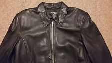 Style & Co Woman Plus Black Leather Casual/Dress Blazer Jacket Sz 18W