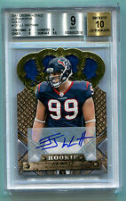JJ Watt 2011 Crown Royale Rookie Auto #447/499 J.J. Watt RC BGS 9 Mint
