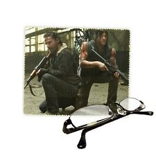Walking Dead, Rick & Daryl, Design, Glasses Lens, Phone Screen Cleaning Cloth