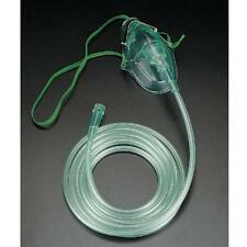 Adult Oxygen Mask Medium Concentration With 7 foot Tubing Included! ぱ