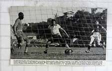 1950 Switzerland Footballer Jean Tamini, Brazil Goalkeeper Barbosa, Juvenal