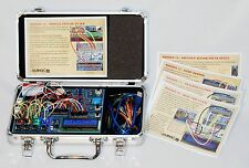 DuinoKit Jr Arduino Based Electronics and Programming Learning Kit with Case
