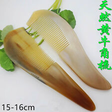 NATURAL OX HORN COMB , HEALTH BENEFITS HORN COMB