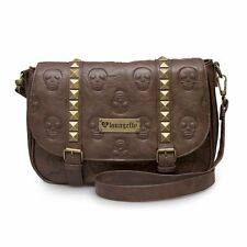 NWT Loungefly Brown Skull/Pyramids Embossed Crossbody/Shoulder Bag