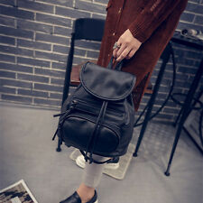 Women Leather Shoulder Bags School Bag Backpack Travel Satchel Rucksack Handbag