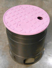 ADS 6 inch Round Valve Box with Overlapping Cover (Qty-4) (OOO-1)