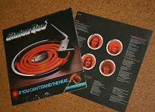LP Status Quo If you can`t stand the heat  Klappcover