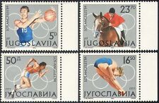 Yugoslavia 1984 Olympic Games/Sports/Basketball/Show Jumping/Horses 4v (n42465)