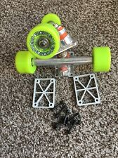 Powell Peralta Street Bones Sk8 Wheels 58mm 93a & Trucks Bearings Combo Nos 80's