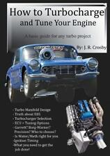 How to Turbocharge and Tune Your Engine Book~step-by-step descriptions~NEW!