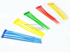 25 FASCETTE CABLAGGIO PLASTICA NYLON COLORATE CABLE TIES 100 mm T993A HIMOTO