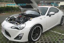 White Strut Hood Shock Damper Gas Lifter Kit for 12-16 Scion FRS FR-S Subaru BRZ