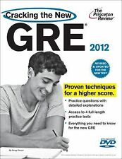 Cracking the New GRE with DVD, 2012 Edition (Graduate School Test Preparation),