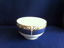 Wedgwood Rococo large open sugar bowl (tiny scratches on blue band)