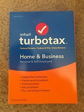 NEW!! SEALED!! Intuit TurboTax Home & Business 2016 MAC/WIN