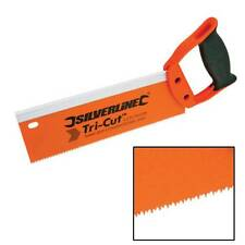 WOOD TENON SAW 250 MM 12 TPI LOW FRICTION BLADE COATING CUTS ON PUSH AND PULL