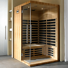 2 (TWO) PERSON INFRARED SAUNA WITH CARBON HEATERS AND FREE DELIVERY