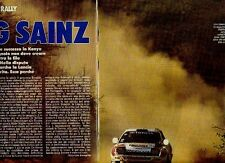 W34 Ritaglio Clipping 1992 Mondiale Rally Kenya King Sainz safari