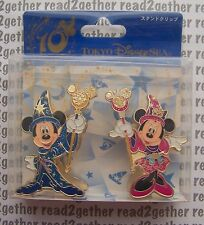 Tokyo Disney Sea 10th Anniversary Mickey and Minnie Photo Clips
