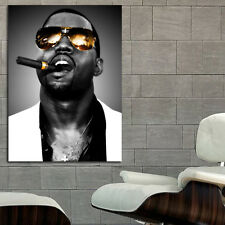 Poster Kanye West Rap Hip Hop 35x47 inch (90x120 cm) on Canvas