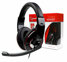 Gaming Skype Headphones / Headset with Microphone / Mic for PC & Computer 3.5mm