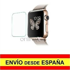 Cristal Templado para APPLE WATCH EDITION 38 mm Protector Pantalla Reloj a1915