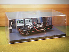 The Bat Mobile and Diorama 1960s in Black  1/43rd Scale