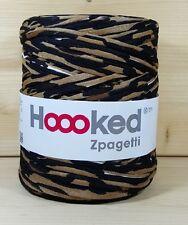 """Hoooked """"Zpagetti Tiger Camouflage"""" Neu Häkeln, Stricken, Baumwolle Stoffgarn"""