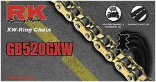 RK Racing Chain GB520GXW-110 Gold 110-Links XW-Ring Chain with ConnectingLink