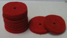 10 Red Sewing Machine Spool Pin Felts Part #8879T