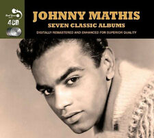 Johnny Mathis SEVEN CLASSIC ALBUMS VOL 1 Warm MERRY CHRISTMAS Open Fire NEW 4 CD