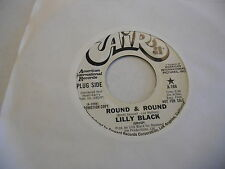 Lilly Black Wait For Awhile/Round and Round 45 RPM Air Records EX promo