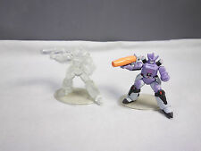 Transformers Heroes of Cybertron G1 Galvatron PVC Figure Lot of 2 SCF HOC Clear