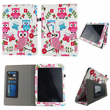 BUTTERFLY OWL WHIT FOLIO CASE IPAD MINI 4 IV SLIM FIT POCKET STANDTABLET COVER