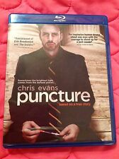 PUNCTURE BLU-RAY 2011 MOVIE CHRIS EVANS TRUE STORY LEGAL THRILLER
