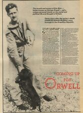 25/12/82Pgn12 Article & Picture(s) A Homage To Novelist George Orwell