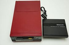 Nintendo Famicom Disk System Console New rubber belt NES Japan USED