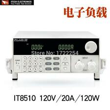 ITECH IT8510 Programmable DC Electronic Load 120V 20A 120W Load High-accuracy BK