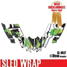 SLED GRAPHIC KIT WRAP FOR ARCTIC CAT FIRECAT SABERCAT F5 F6 F7 2003-2006 SL0517
