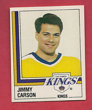 RARE 1987 KINGS # 279 KINGS JIMMY CARSON ROOKIE   STICKER CARD