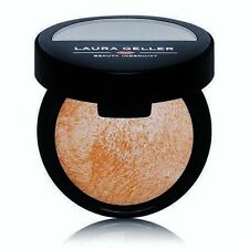 LAURA GELLER BAKED BRULEE HIGHLIGHTER DULCE DE LECHE GOLD ILLUMINATE SHIMMER QVC