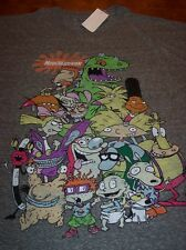 NICKELODEON REN & STIMPY ANGRY BEAVERS HEY ARNOLD THORNBERRY'S T-Shirt 2XL NEW