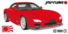Mazda RX-7 Series 6  - Red with factory rims - JDM Twin Turbo  - JapTune Brand